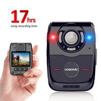 كاميرات الفيديو الكاميرا البالية الكاميرا 1080P، المحمولة متعددة الوظائف الأشعة تحت الحمراء للرؤية الليلية المثبتة كام dvr الفيديو للضباط، حراس الأمن