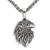 Орел головной кулон ювелирные изделия птица амулет мода животное мужское ожерелье