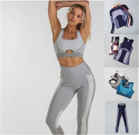 Womens Designer Gril Yoga Suit Sleeve Long Pant Gym shark Br...