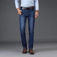 Sulee Marke Herrenbekleidung 2019 neue Art und Weise Retro dünne kleine gerade Jeans für beiläufige Männer Hosen