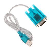 USB إلى منفذ COM المنفذ التسلسلي RS232 9 دبوس HL-340 PC كبل محول محول