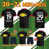 2020 2021 Leverkusen Soccer Jersey Männer Kits Kit Bayer 04 Palacios Bailey Football Jersey Demirbay Volland Tah Football Hemd 20 21