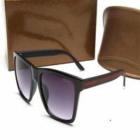 إيطاليا الفاخرة 2238 النظارات الشمسية الرجال النساء العلامة التجارية مصمم شعبية أزياء الصيف نمط مع النحل عالية الجودة uv حماية عدسة مع مربع