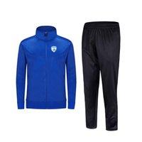 2021 Израиль Новый стиль футбольный мужской куртка с брюками спортивная одежда футбольный трексуит взрослых детская одежда набор