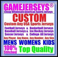 Niestandardowa koszykówka baseball lód hokeja mężczyźni kobiety dzieci amerykańskie koszulki sportowe mundury Oficjalny 2021 Jersey Draft 4XL 5XL 6XL