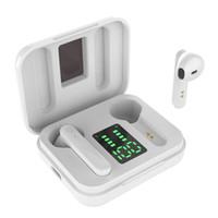 SMS-T13 TWS بلوتوث 5.0 سماعات 800mAh شحن مربع سماعة لاسلكية 6D الرياضة ستيريو في سماعات الأذن سماعات مع مايكروفون