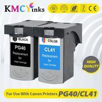 KMCyinks PG-40 CL-41 Cartuccia d'inchiostro compatibile PG40 per Canon Pixma MP140 MP150 MP160 MP180 MP190 MP210 MP220 MP450 MP470 Printer1