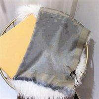 En tasarımcı yün atkı moda lüks parlak altın parçacığı Yünlü dokuma eşarp 180 / 70cm