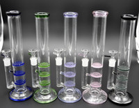 12 Inch Glass Water PipeAssorted Color Green Glass Bong Thre...