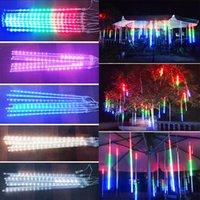 30cm 8lamps / set Ducha decoraciones de Navidad Luces Meteor lámpara de luz LED Set impermeable al aire libre luz decorativa Bar