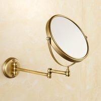 Espelho de Banheiro de Bronze Antigo Cobre Elegante 8 polegadas Espelho de Banheiro, Magnifier Acessórios de Beleza Enviar da Rússia1