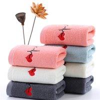 2021 Новый высококачественный 100% хлопковое полотенце 33 * 73см лицом для лица мягкий Handtowel ванная полотенца