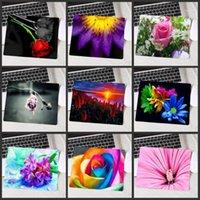 마우스 패드 손목 rects xgz 아름다운 핑크 꽃 패드 고품질 빨 수있는 PC 게임 컴퓨터 키보드 판매 게임 패드 1