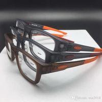 Kvalitet O Bran Ultra-Light TR90 Sportig Glasögon Ram Vanliga Glasögon Bekväma Säkerhet Utbytbar-Ben Rektangulär Fullrim för recept