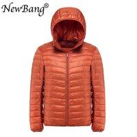 NewBang Plus 11XL 10XL 9XL мужская дневная куртка ультра светлая куртка мужская ветровка перья Parka мужчина зимний большой размер вручную 201119