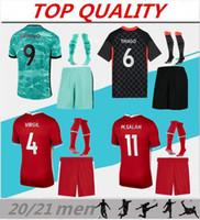 망 2020 2021 축구 키트 멀리 멀리 세 번째 축구 유니폼 20/21 Maillot de Foot Camisola de Futebol 성인 축구 셔츠 키트