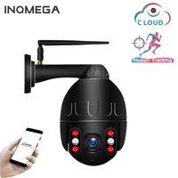كاميرات Inqmega 1080P PTZ Speed قبة IP كاميرا WiFi تتبع السيارات اللاسلكية في الهواء الطلق شبكة CCTV الأمن مراقبة ماء كاميرا