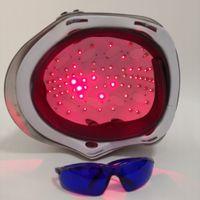 머리카락 재성장 레이저 헬멧 45 의료 다이오드 치료 탈모 솔루션 머리 빠른 재성장 LLLT 레이저 캡 프리 유리