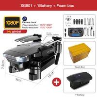 ZWN SG907 SG901 GPS Drone с Wi-Fi FPV 1080P 4K HD Dual Camera Оптический поток RC Quadcopter Следуйте за мной Мини Dron VS SG106 E520S