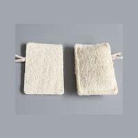 11 * 7 سنتيمتر الطبيعية اللوف وسادة مستطيل شكل تقشير لوفا إزالة الجلد الميت مثالي للاستحمام دش وسبا 226 N2