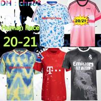 Nouvelle race humaine 2020 2021 Real Madrid Manchester Fernandes Greenwood Pogba United Soccer Jerseys 20 21 Martial Rashford 2020 Jersey de football