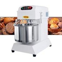 68L Automatic Dough Mixing Machine Flour Mixer Stirring Home Commercial pasta machine White Dough kneading Machine
