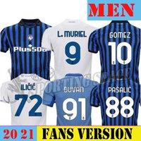 20 21 21 Atalanta Soccer Jerseys Muriel 2020 2021 Atalanta BC Maglia da calcio Duvan Camicia da calcio Layicic Pasalic Gomez Uomo Uniforme per adulti