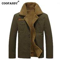 Männer Jacken Männer Casual Turn-Down-Kragen Langarm Pacelwork Taschenjacke Lässig, Outdoor, etc Button Mantel Outwear1