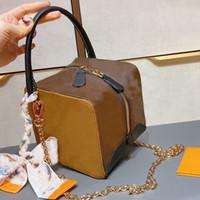Новые кубики сумка мода квадратная сумка крощен сумки через плечо старый цветок печати кожаный клатч мешок женские сумки сумки кошельки мини скромные