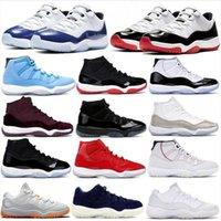 Top para hombre y para mujer barata 11S bajo Barons ganar así 96 82 zapatos de baloncesto de las zapatillas de deporte de los zapatos de los hombres Deportes Concord