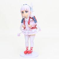 15 cm Anime Kobayashi San Chi Hiçbir Hizmetçi Dragon Kanna Kamui Action Figure PVC Koleksiyon Model Oyuncak Çocuk Hediye Y200421
