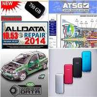 2020 Hot Auto Repair Soft-ware ALLDATA 10.53 with USB 3.0 750GB Hard Disk Hard Drive Diagnostic Tool