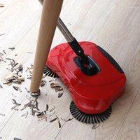 التنظيف المنزلية آلة تجتاح الفولاذ المقاوم للصدأ اليد دفع كاسحة داسبان للأم بسهولة التنظيف المنزلية part1