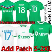 20 21 Maillot como santos etienne futebol jerseys 2020 2021 Maillot asse etienne khazri cabella beric nordin hamouma camisas de futebol uniformes