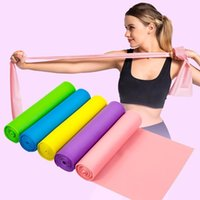 Yoga Fitness-Widerstand-Bänder Elastische Stretch Tension Zugseil Übung Indoor-Training Workout Sport Fitnessgeräte 1.5M / 1.8M