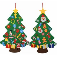 DIY Felt Christmas Tree Decorations Kids Gifts Xmas Tree Doo...