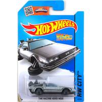 Hot Räder 1:64 Auto DMC Delorean Zurück in die Zukunft Collector Edition Metall Diecast-Autos Kinder Spielzeug Geschenk LJ200930