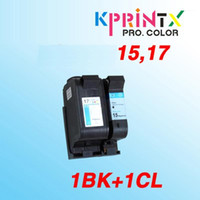 2x compatible For 15 17 Ink Cartridge compatible for 17 15 D...