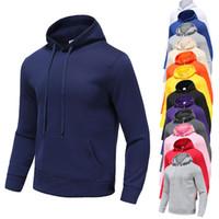abbigliamento uomo felpe con cappuccio felpe in pile leggero pullover con cappuccio stampati moda 12 colori street style abbigliamento sportivo da uomo taglia M-XXXL