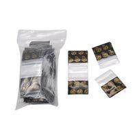Фабрика оптом сигаретная сумка Другие аксессуары для курения Упаковка для дымных табачных аксессуаров для дыма 100 шт. Коллекция пластиковых пакетов