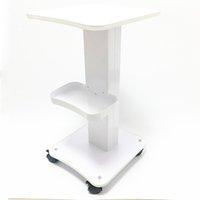 하이드로 더마 브레이 젼 RF 캐비테이션 IPL 기계 높은 품질 미용 트롤리 스탠드 홀더 롤링 카트 롤러 휠 철 나무 트롤리