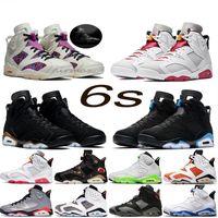 Hare 6 6s Yellow Mens tênis de basquete CNY New criados DMP Pinnacle Black Cat Carmine UNC Oregen Homens Sports Sneakers