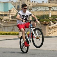 Hochwertige Aluminiumlegierung 21 Geschwindigkeit 22 Zoll Gewöhnliche Pedalsport Unterhaltungsunternehmen Mountainbicycle