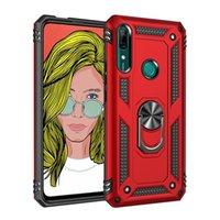 Armure debout cas de téléphone pour Huawei P20 Lite P30 P40 Pro Case Holder anneau magnétique Huawei Nove 5T Y7 Premier Y5 Y6 2019 Honor 10 Lite Cover