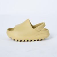 Garçons Filles Mousse Beach Été Diapositives osseux Résine Bébé bébé Enfants Enfants Adultes Sandales de mode Sandales de la mode Enfants Chaussures d'eau légère C1002