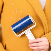 Ткань Lint Ролики Sticky волос Lint Roller Cleaning Remover Pet Brush Одежда Fluff Picker многоразовый Одежда Lint Roller Вставлять
