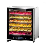 Dehidratorlar Bilgisayar Paslanmaz Çelik Kurutucu Kurutulmuş Meyve Makinesi Dehidrasyon Hava Sebzeleri Et Snacks Machine1