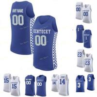 Kentucky Wildcats Jersey de la universidad de baloncesto 0 Ashton Hagans 1 Booker 1 Nate Sestina 10 Johnny Juzang 11 Dontaie Allen personalizada cosido