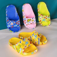 Baby Slippers Soft Bottom Flip Flop Kids Loafers with Cartoo...
