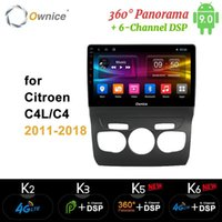 Ownice 8core Android 9,0 Carro DVD GPS Navi Player Carro Estéreo K5 K6 para C4 C4L 2011 - 2018 Rádio 4G LTE DSP Óptica 3601